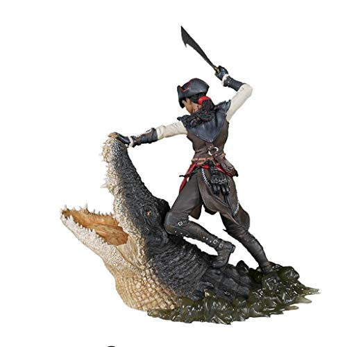 Luckly77 Aveline en Assassins Creed III: Figura de acción de Liberación de la Hoja Oculta Exquisita Caja de Regalo del Ventilador - 27cm