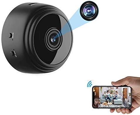 OVEHEL Mini WiFi Spy Camera HD 1080P Wireless Hidden Camera Video Camera Small Nanny Cam with product image
