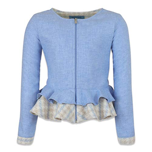 KATU Kids Made in Italy Blazer Hellblau Charlotte, Blau 6 Jahre
