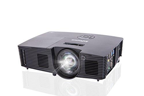InFocus Corporation IN112v SVGA Projector, HDMI, 3500 Lumens, 17000:1 Contrast Ratio, 3D, PRO J