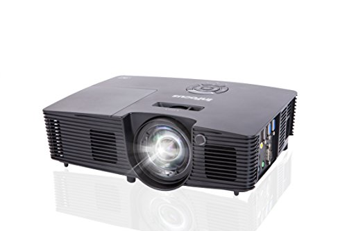 InFocus Corporation IN112v SVGA Projector, HDMI, 3500 Lumens, 17000:1 Contrast Ratio, 3D, PRO J