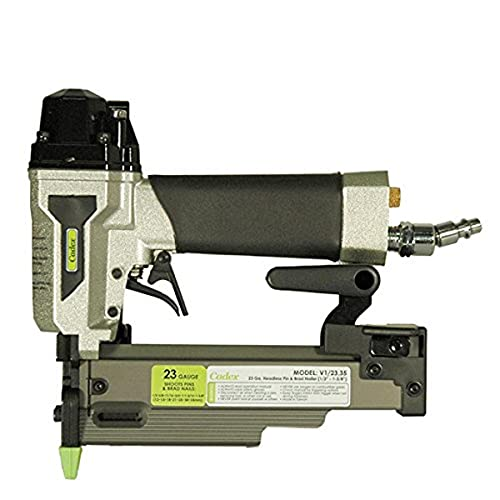 Cadex v1/23.35A 23 Gauge Headless Pinner and 23 Gauge Brad Nailer, 1/2-Inch to 1-3/8-Inch