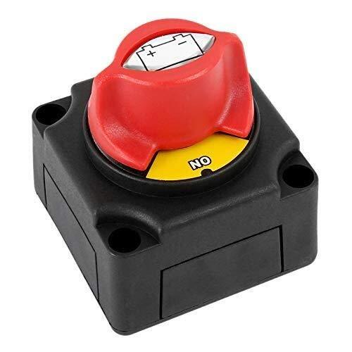 IGOSAIT Interruptor de desconexión del disyuntor del aislador de batería automotriz 300A para el coche barco Yate Atv transferencia