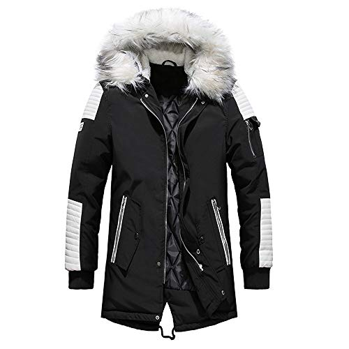 Mens Winter Camouflage Blouse Thickening Coat Pullover Outwear Tops Jacket