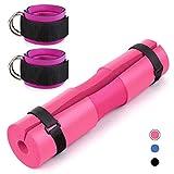 Ashy-wlj Barra de espuma de la cubierta trasera de la ayuda de la hombrera cuello y hombros de protección Acolchonadas cuclillas cojín de gimnasia de levantamiento de pesas Ejercicio ( color : Set 1 )