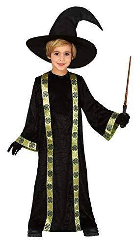 Fiestas Guirca Costume Mago Merlino stregone Bambino Bambina