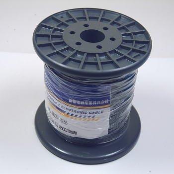 協和ハーモネット UL耐熱ビニル絶縁電線 灰 リール巻 100m UL1007AWG26 100m<GY>