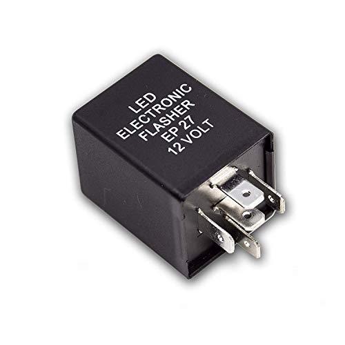 PA 1 kit de réparation de relais de clignotant électronique à LED EP27 EL27 à 5 broches.