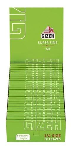 Preisvergleich Produktbild Gizeh Rolle 1 1 / 4 78 mm 50 Blatt (jedes Set beinhaltet 25 Heftchen