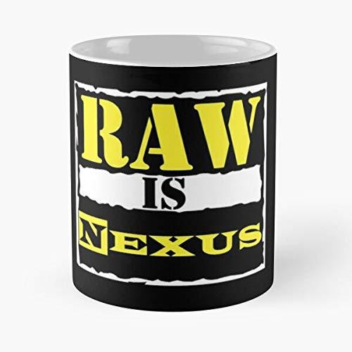 Nexus Bryan War Is Night Barrett Wade Monday Era Daniel Attitude Raw The La Migliore Tazza da caffè in Ceramica in Marmo Bianco da 11 Once