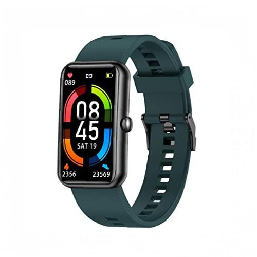 Smart Watch Sports Fitness Pulsera Mensaje Pulsera Pulsera con modos multi-deporte verde, pulsera inteligente