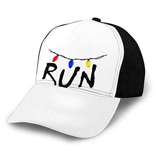 N/ Stranger Things - Gorra de béisbol, ajustable, color negro