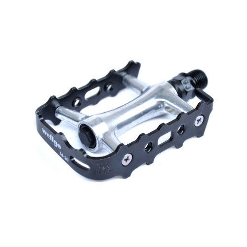 New Wellgo M-20 Aluminum Bicycle Cycling Bike Pedals For Mountain And Road by Pellor by Wellgo