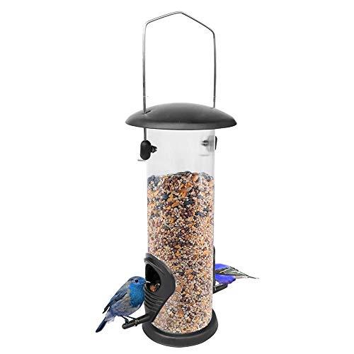 sycamorie Mangeoire pour Les Oiseaux Fond De Couverture en Fer Mangeoire pour Les Oiseaux Boule De Graisse Distributeur Mangeoire À Oiseaux Sauvages en PVC