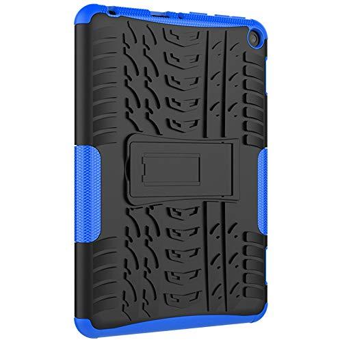 Mogzank Utiliza para Fire HD8 Cubierta Protectora Plana, Soporte Anticaída de Color de Contraste Ultrafino, Cubierta Protectora-3