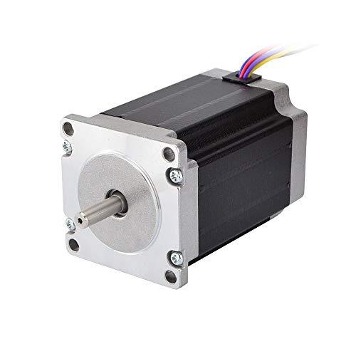 HUANRUOBAIHUO NEMA 23 del Motor de Pasos 2.83Nm (400oz.in) 57x57x84mm 8-Plomo 1.8 Grado 4A for la Impresora 3D CNC Router Lase 3D Accesorios Extrusoras de la Impresora