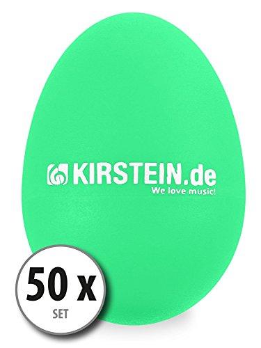 50x Kirstein ES-10G Egg Shaker verde Medium-Heavy Set