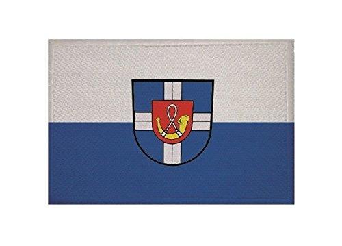 U24 Aufnäher Hambrücken Fahne Flagge Aufbügler Patch 9 x 6 cm