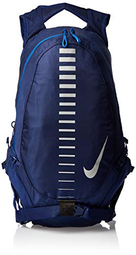 Nike Course Running Backpack (Blue Void/Gym Blue/Silver)