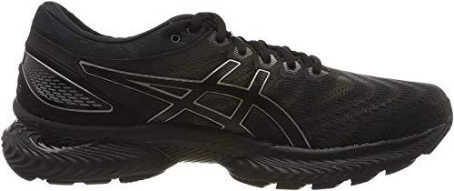 Asics Gel-Nimbus 22, Running Shoe para Hombre, Negro/Negro, 46.5 EU