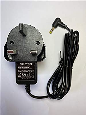UK Plug Replacement 6V AC-DC Adaptor for Sony XDR-S41D Portable DAB Radio
