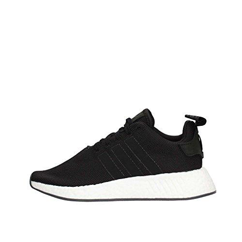 adidas Herren NMD_R2 Gymnastikschuhe, Schwarz (Core Black/Core Black/Core Black), 40 2/3 EU