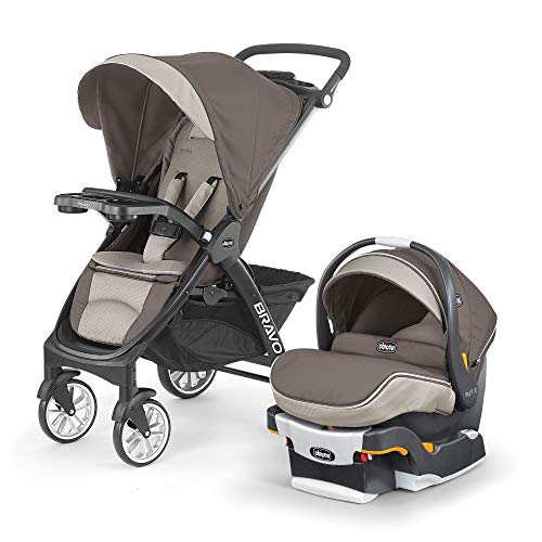 Chicco Chicco Carriola Bravo LE Travel System Latte