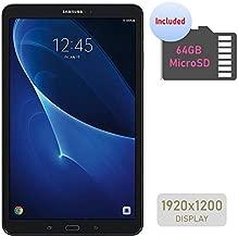 Samsung Galaxy Tab A 10.1'' Touchscreen (1920x1200) Wi-Fi Tablet, Octa-Core 1.6GHz Processor, 2GB RAM, 16GB Memory, Dual Cameras, Bluetooth, 64GB MicroSD Card, Android OS