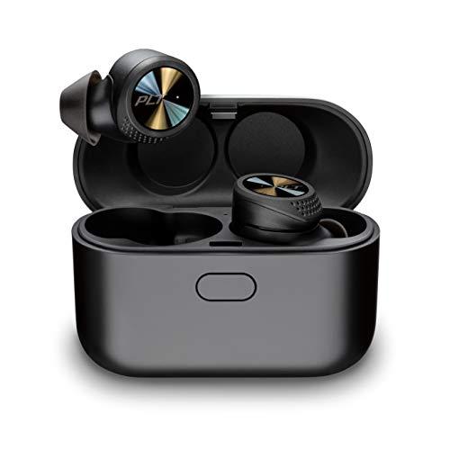 Plantronics BACKBEAT PRO 5100 True Wireless Bluetooth Headset/Kopfhörer, In-Ear, IP54 und Noise-canceling, Schwarz