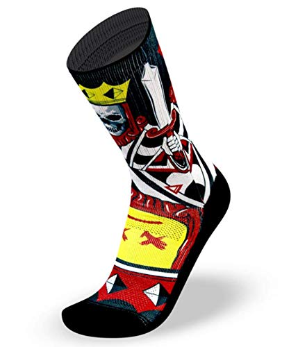 Generico Calcetines Lithe King Crossfit Wod Workout RX Socks (43-45)