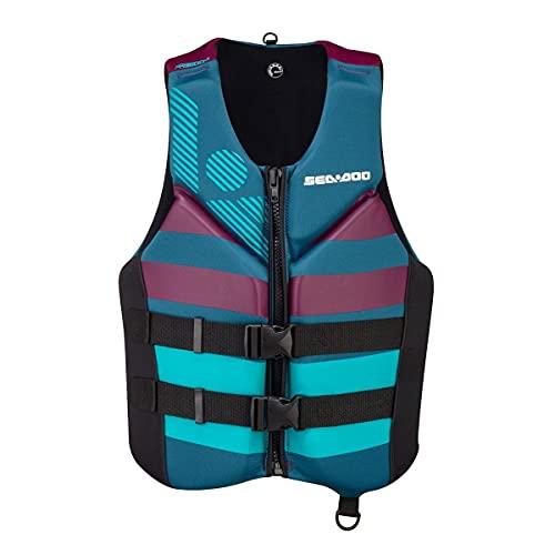 Sea-Doo Ladies' Freedom Life Jacket - The Athletic (Aqua) 285945