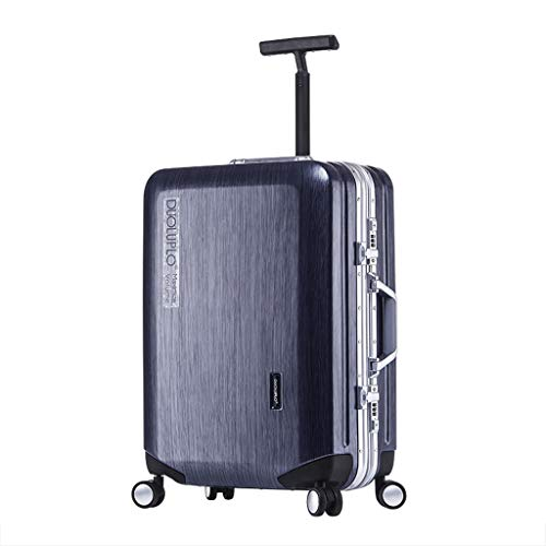 Best Review Of Lightweight Aluminum Frame Business Travel Trolley Wheeled Rolling Suitcase Luggage,T...