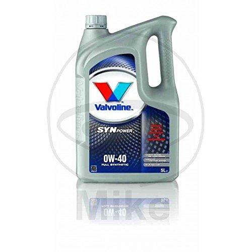 Valvoline Motoröl Motorenöl Motor Motoren Öl Motor Engine Oil Benzin Diesel SynPower 0W-40 5L
