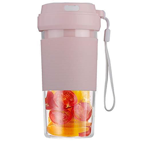 DIHAO Batidora de Zumo USB, Mezclador de Frutas, Exprimidor Portátil Licuadora Personal, Adecuado para Frutas y Verduras, para Hacer Jugos de Frutas/Milkshake Etc