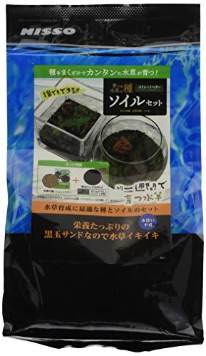 ニッソー 育てる水草の種ストレートヘアーソイルセット