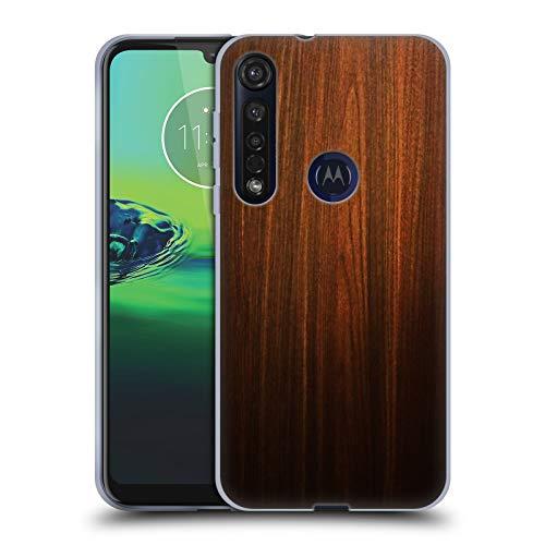 Head Case Designs Ufficiale Nicklas Gustafsson Legno Textures Cover in Morbido Gel Compatibile con Motorola Moto G8 Plus
