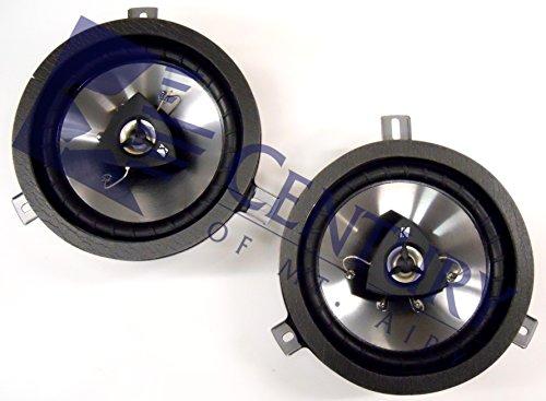 Kicker Jeep Wrangler Speaker Upgrade Kit - 2 Speakers