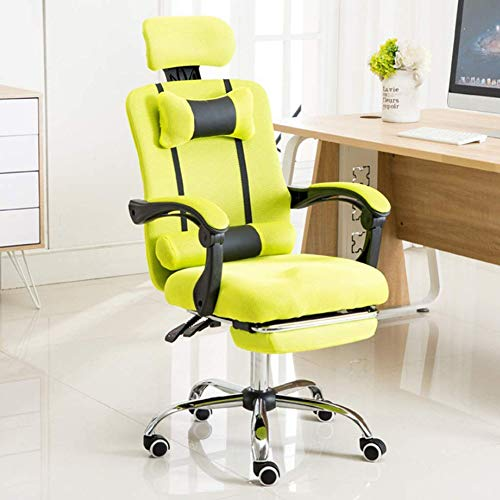 SXFYWYM Swivel Chair Reclining bureaustoel Game Chair Verstelbare Lifting Home Seat Comfortabele Slaapzaal Stoel