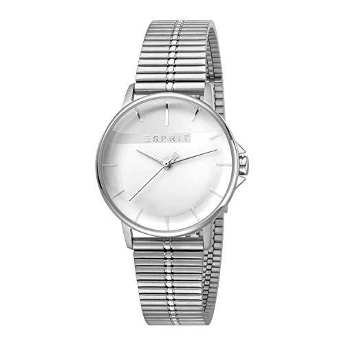 Esprit ES1L065M0065 Fifty-Fifty Uhr Damenuhr Edelstahl 3 bar Analog Silber