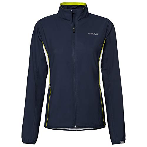 HEAD Damen Club Jacket W Tracksuits, darkblue, 2XL
