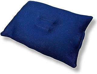 洗えるパイプ枕 fuwawa 通気性パイプ枕 高さ調節枕 高さ自由自在 丸洗い可能 防ダニ 防臭 洗える 2重ファスナー メッシュ素材 高さ調整枕 抗菌防臭 ネイビー