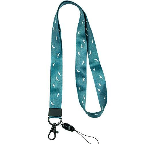Schlüsselband Umhängeband mit hochwertigem, beidseitigem, vollfarbigem Druck, ideal für Schlüssel /kartenhalter/ MP3-Player / USB-Sticks style 19