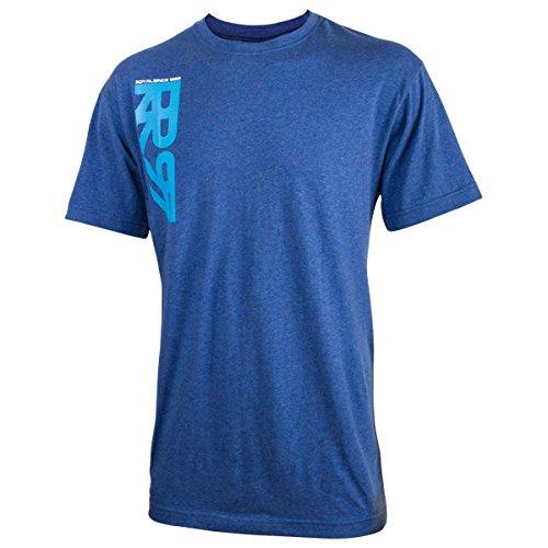 Royal Racing T- Shirt Crown-Bleu-XXL Homme, FR (Taille Fabricant : 2XL)