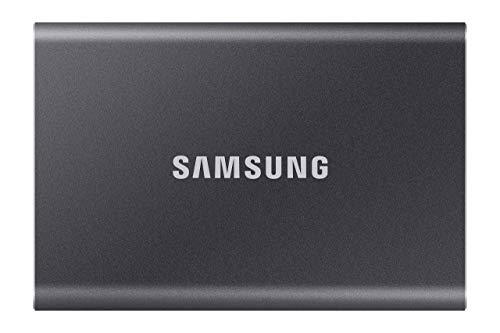 Samsung T7 Portable SSD - 1 TB - USB 3.2 Gen.2 Externe SSD Titan Gray (MU-PC1T0T/WW)