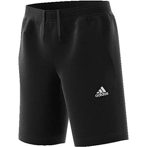 adidas Yb Id Sta Shorts für Kinder, Jungen, Kurze Hose, DV1657, schwarz/weiß, 110 (4/5 años)