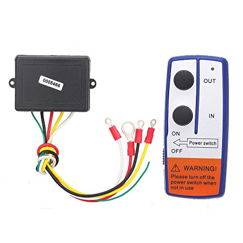 Yuangang 23A DC 12V 50FT Remote Control Kit Wireless Winch Remote Control Switch for Truck ATV SUV Winch Universal Switch(Battery Included)