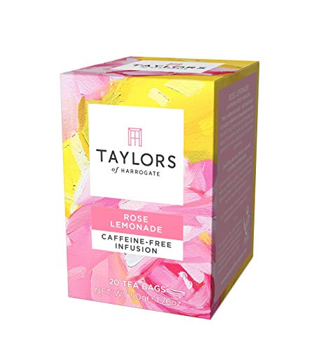 Taylors of Harrogate Rose Lemonade Infusion, 20 Count (Pack of 1)