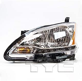 2015 nissan sentra headlight assembly replacement