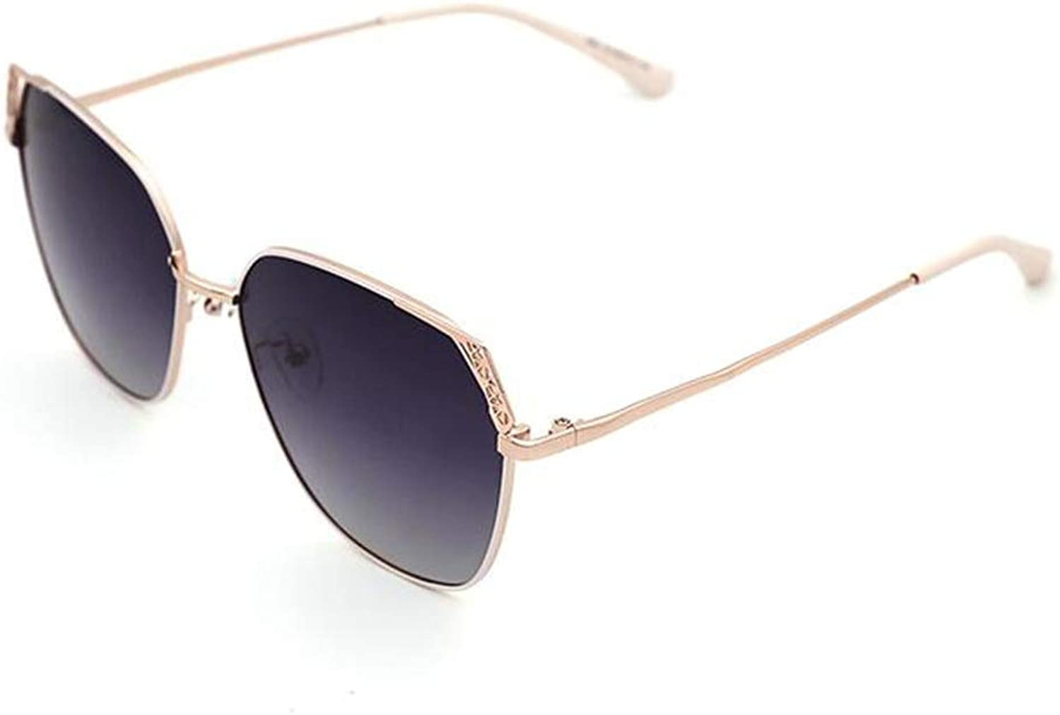 ANHPI Sunglasses Female UV Predection Polarized Geometry Hollow Driving Glasses,4colors (color    3)
