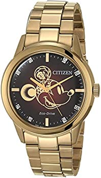 Citizen Eco-Drive Unisex 40mm Lunar Year Of The Mouse Gold-Tone Watch